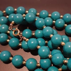 Vintage Strand , Beaded Necklace